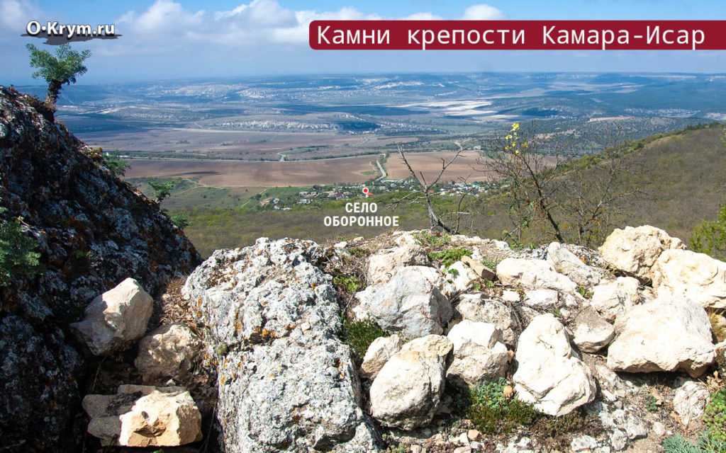 Камни крепости Камара-Исар