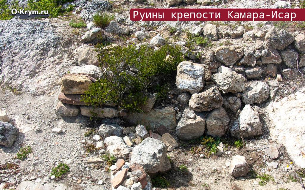 Руины крепости Камара-Исар