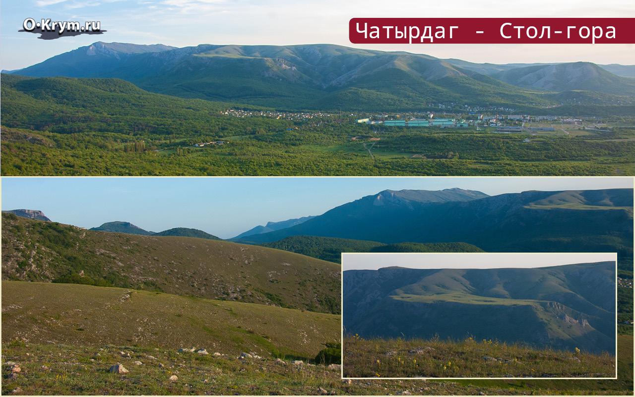 Чатырдаг - Стол-гора