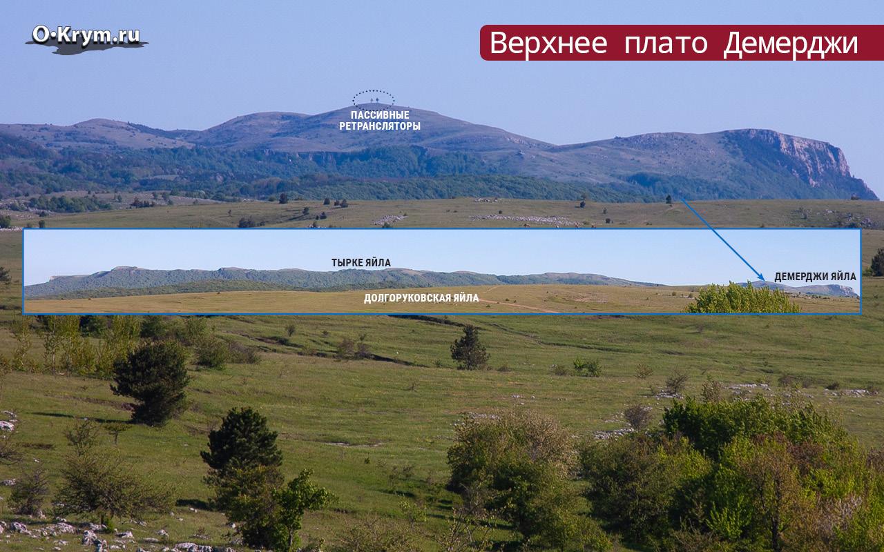 Верхнее плато Демерджи