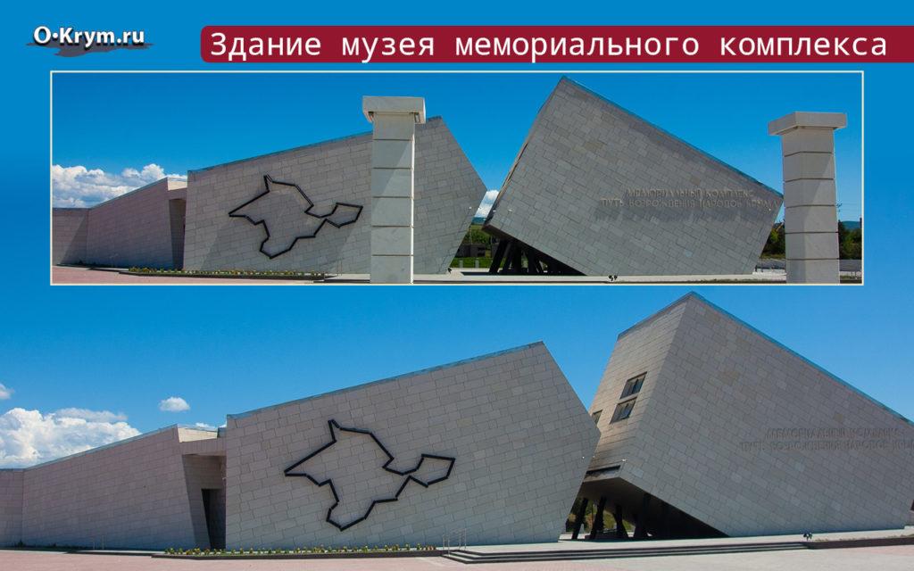 Здание музея мемориального комплекса