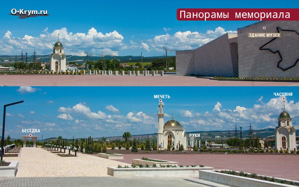 Панорамы мемориала
