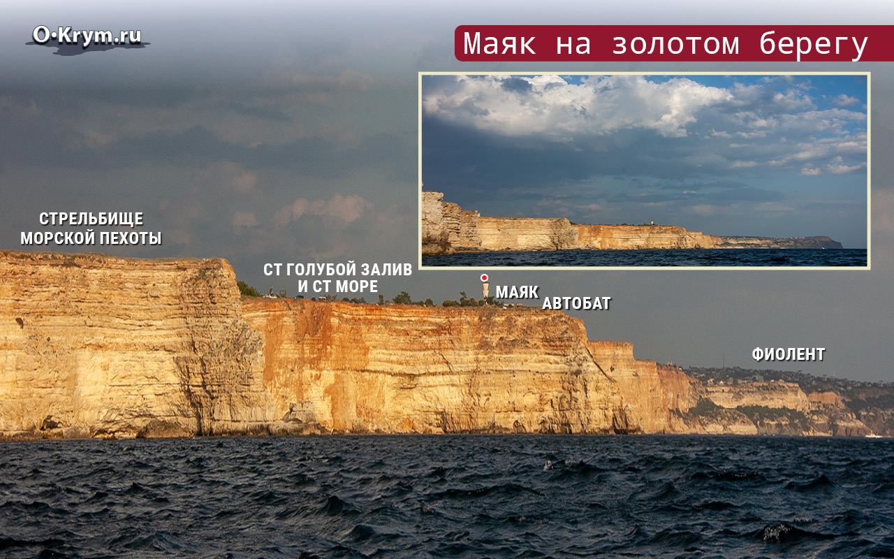 Маяк на золотом берегу